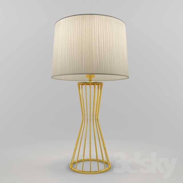3d models table lamp moden table lamp for Table lamp 3ds max tutorial