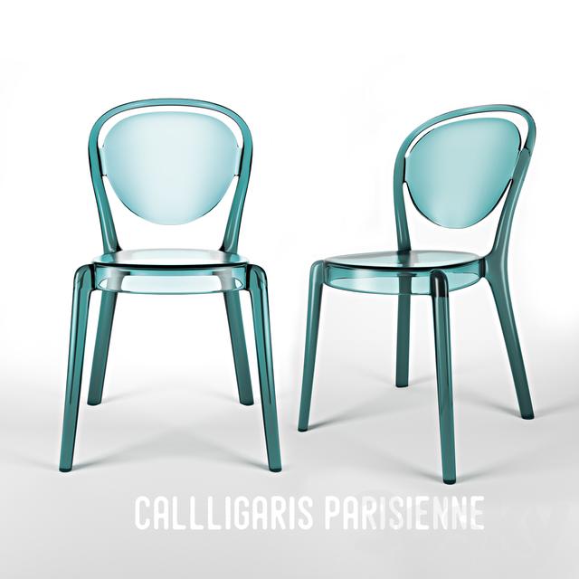 Calligaris Parisienne  sc 1 st  3DSky & 3d models: Chair - Calligaris Parisienne