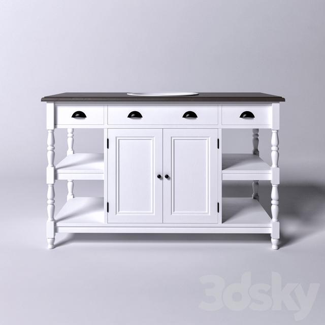 3d Models Bathroom Furniture Frederica Cabinet