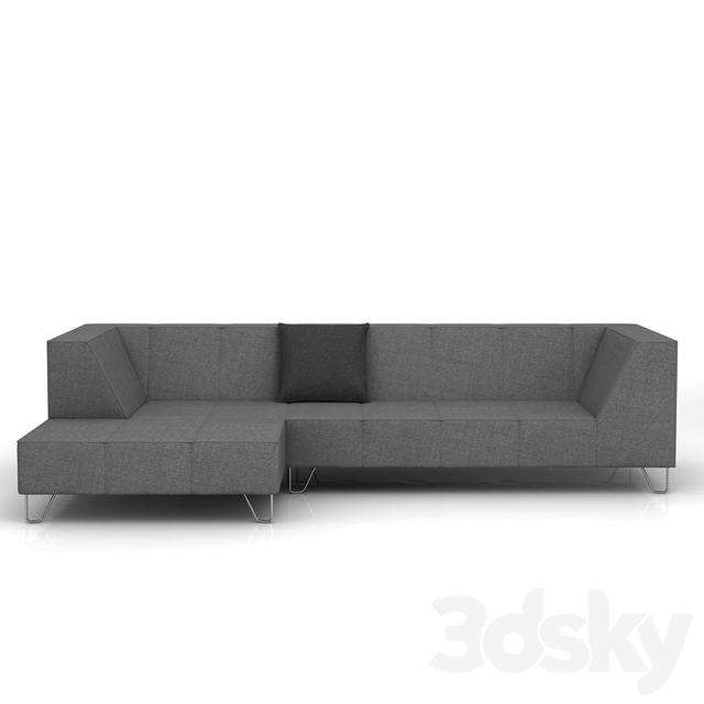 3d models sofa boconcept milo sofa