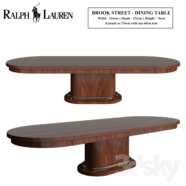 Ralph Lauren Brook Street Dining Table
