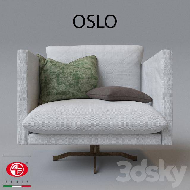3d Models Arm Chair Alf Group Oslo Armchair
