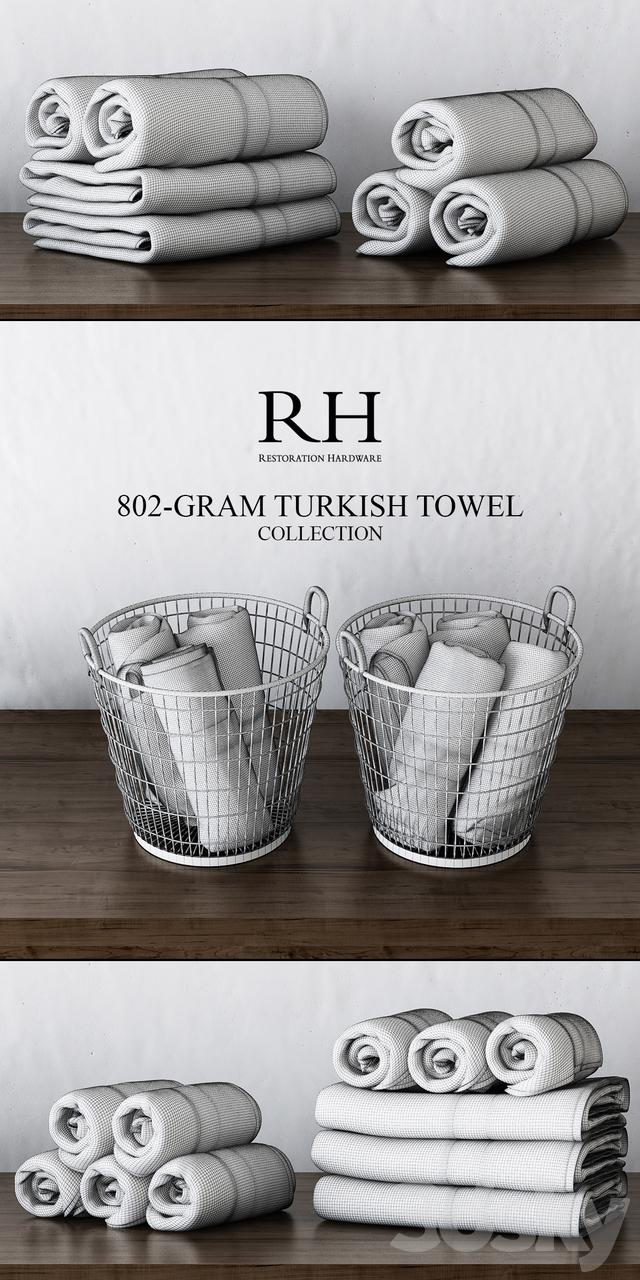3d models bathroom accessories rh 802 gram turkish - Restoration hardware bathroom accessories ...