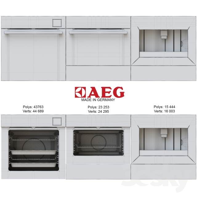What S New In Kitchen Appliances ~ D models kitchen appliance aeg what s new