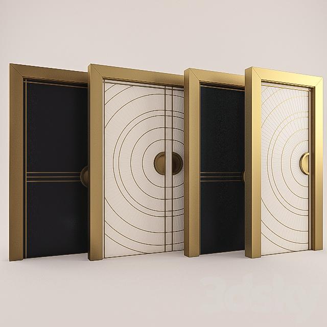 Art deco doors & 3d models: Doors - Art deco doors