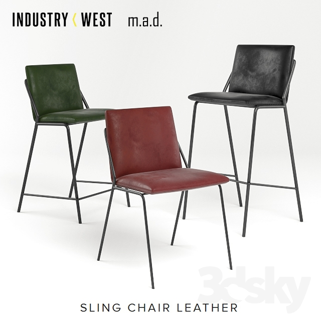 Leather sling collection by Industry West and MAD