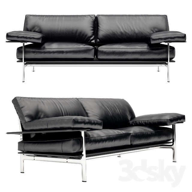 3d models sofa sofa b b italia diesis. Black Bedroom Furniture Sets. Home Design Ideas