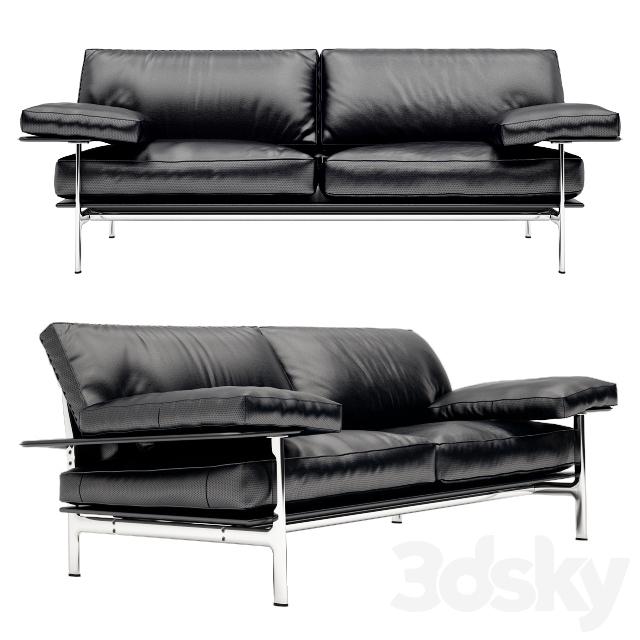 3d models sofa sofa b b italia diesis for B b sofa