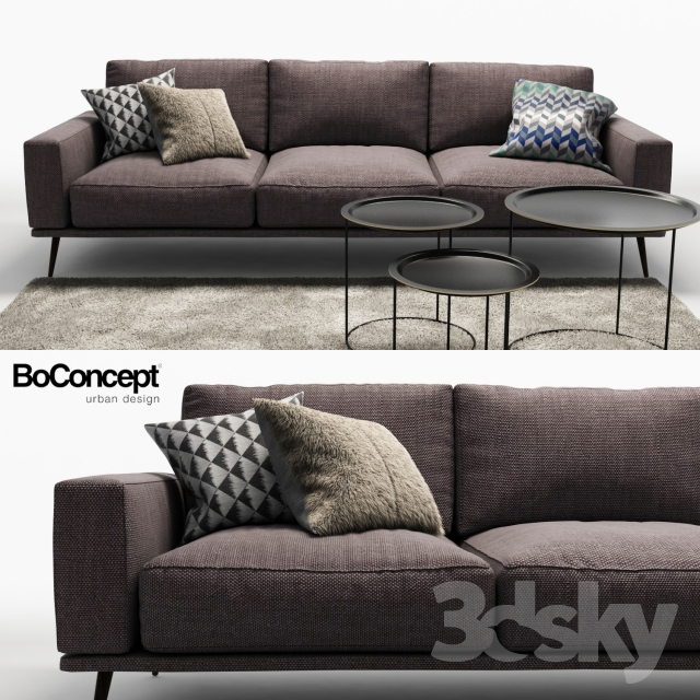 3d models sofa sofa bo concept. Black Bedroom Furniture Sets. Home Design Ideas