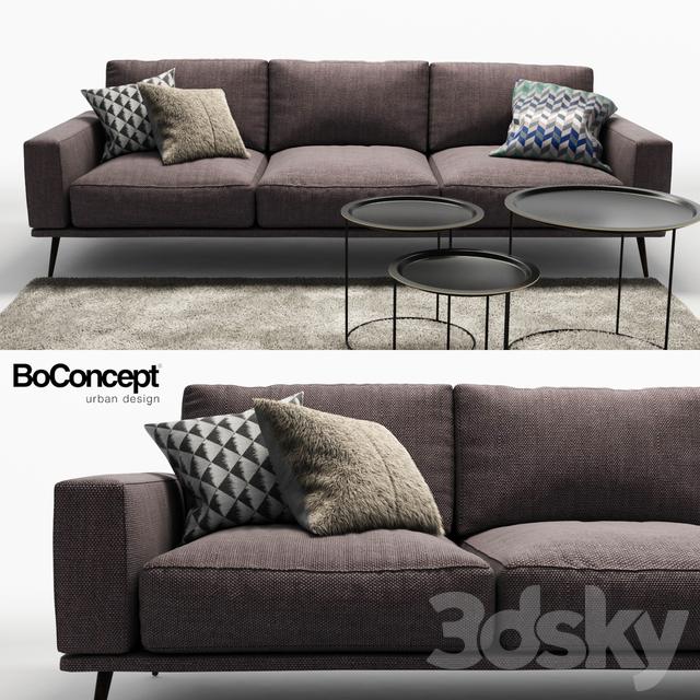 3d models sofa sofa bo concept. Black Bedroom Furniture Sets. Home Design Ideas