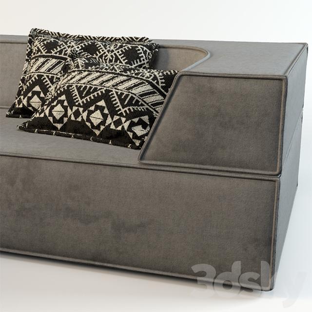 3d models sofa sofa cor trio. Black Bedroom Furniture Sets. Home Design Ideas