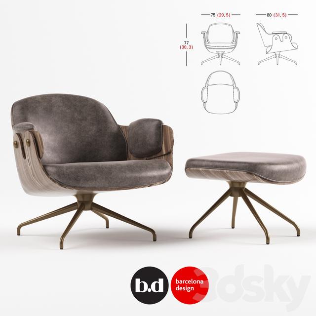 bd barcelona design low lounger