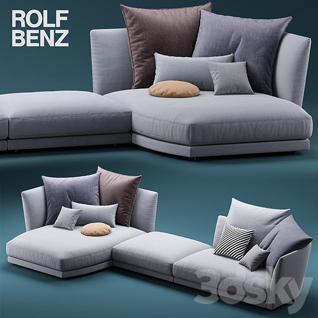 comfortable rolf benz sofa. Sofa ROLF BENZ TONDO Comfortable Rolf Benz