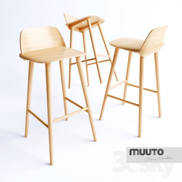 3d Models Chair Nerd Bar Stool