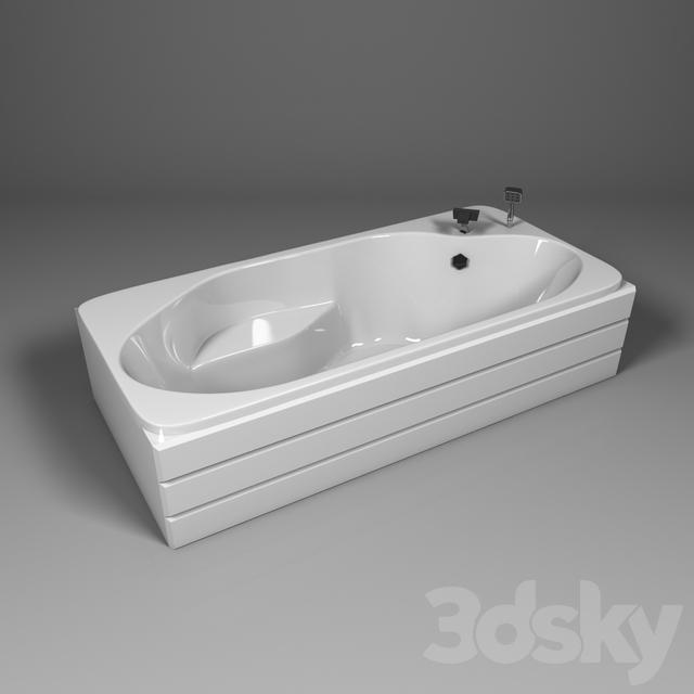 3d models bathtub amp shower cubicle bath with a seat bath with shower cubicle bath with shower cubicle