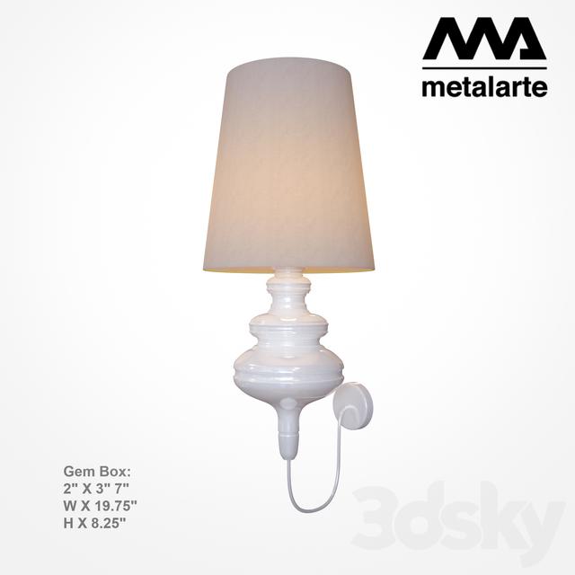 Metalarte Wall Lights : 3d models: Wall light - Metalarte Josephine Mini