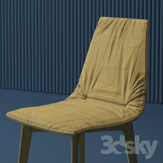 3d models table chair dining group team 7 mylon lui. Black Bedroom Furniture Sets. Home Design Ideas
