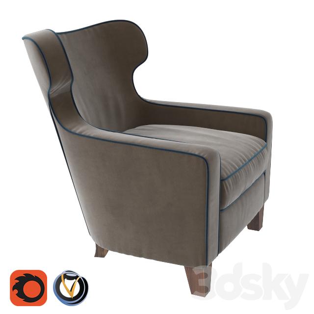 3d Models Arm Chair Armchair Natural Home Curcuma