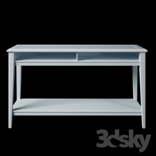 3d models table console table ikea liatorp for Tables consoles extensibles ikea