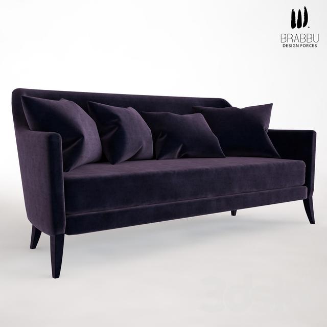 3d Models Sofa Como Sofa By Brabbu