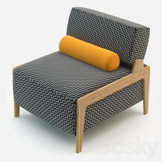 3d Models Arm Chair Inno Box Wood Armchair