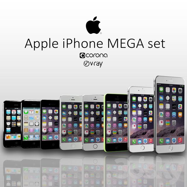 3d models: Phones