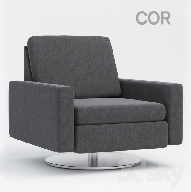 3d models arm chair conseta armchair by cor. Black Bedroom Furniture Sets. Home Design Ideas