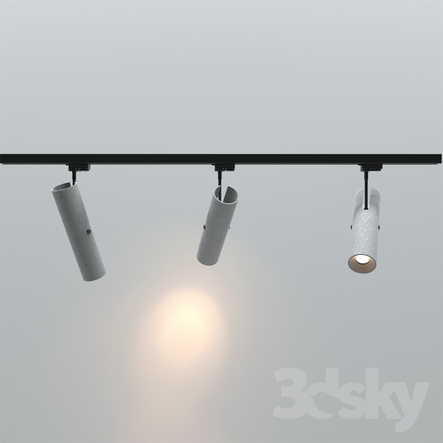 Hanging Ceiling Light 3d Autocad Model: 3d Models: Spot Light