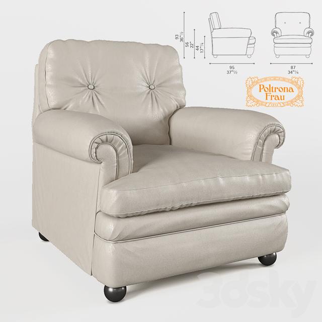 3d Models Arm Chair Armchair Poltrona Frau Dream A