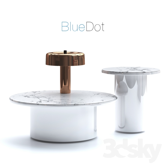 3d Models Table Coffee Tables And Reading Lamps Blue Dot