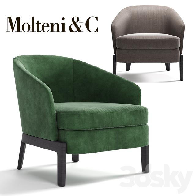 3d models arm chair molteni c chelsea armchair for Molteni furniture