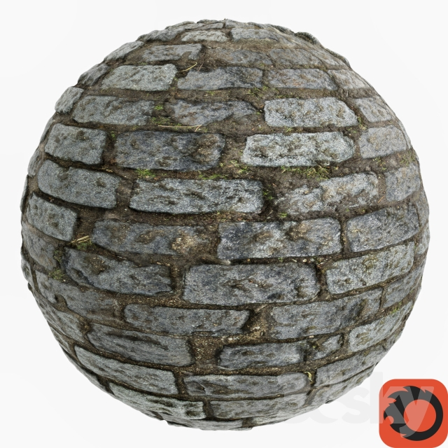 Stone pavers (photogrammetry)