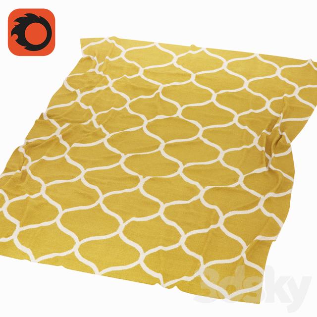 3d Models Rug Carpet Stockholm Stockholm Ikea Yellow
