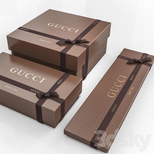 Gcci Shoe Box