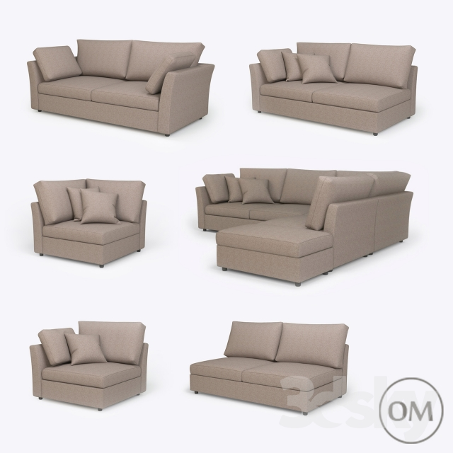 3d models sofa modular sofa claude. Black Bedroom Furniture Sets. Home Design Ideas
