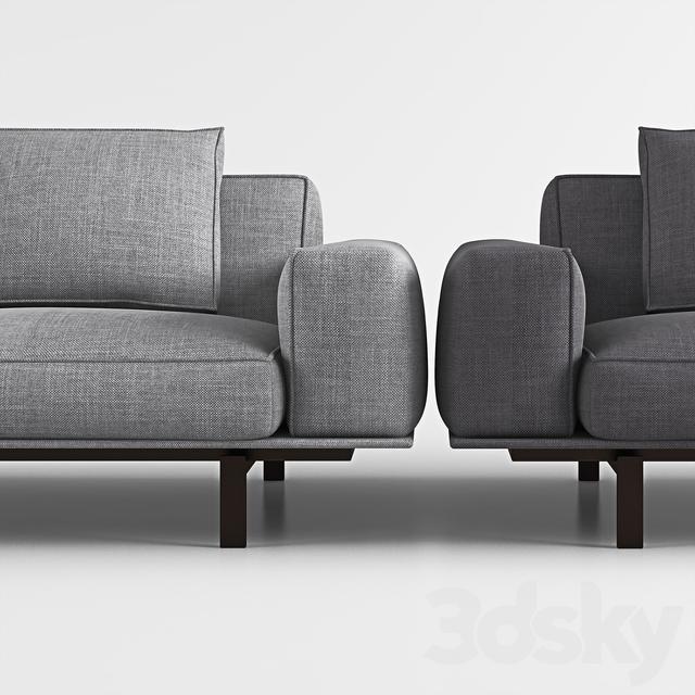 3d Models: Sofa