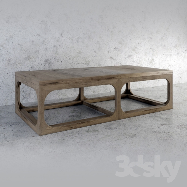 3d Models Table Artwood Denver Coffeetable