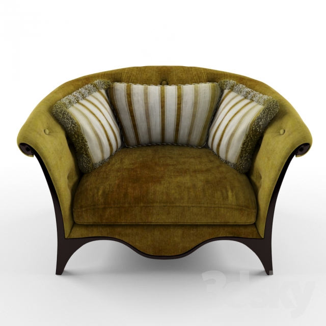 3d Models Arm Chair Classic Armchair