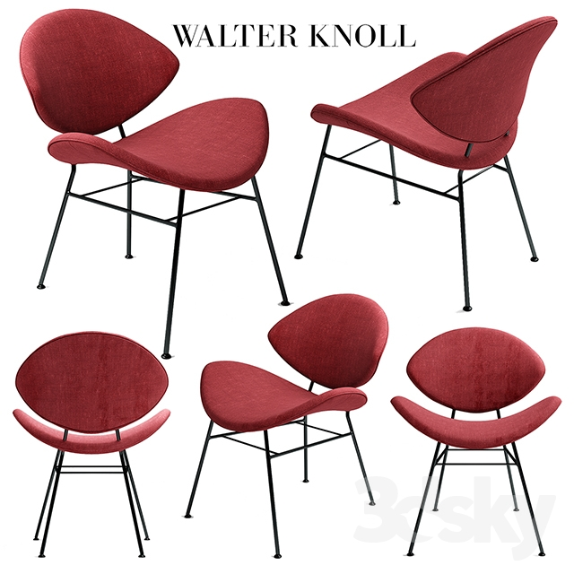 3d Models Chair Armchair Walter Knoll Fishnet Chair