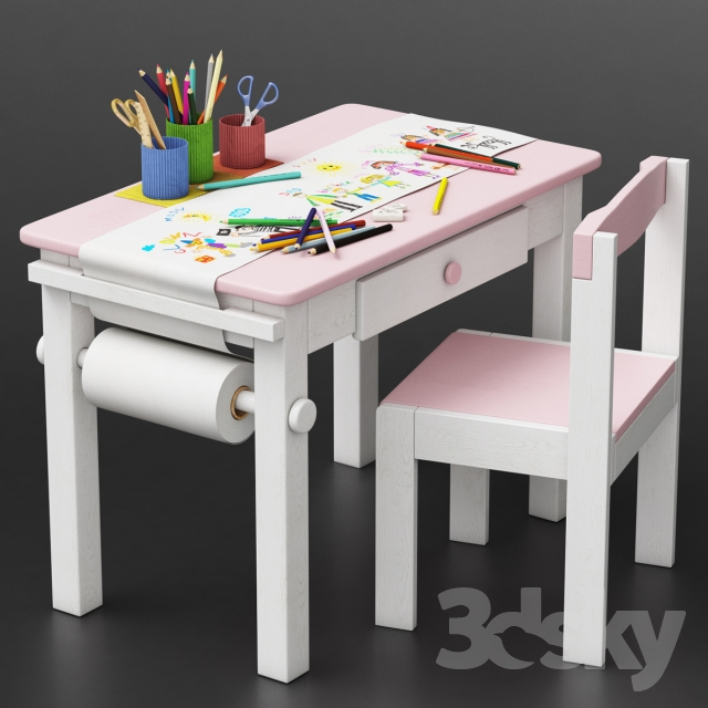 Baby table set