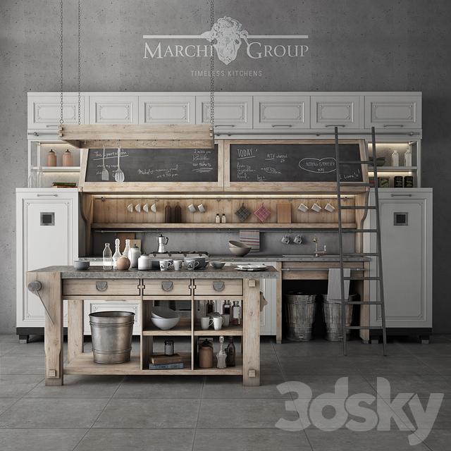 3d models kitchen marchi group nolita. Black Bedroom Furniture Sets. Home Design Ideas