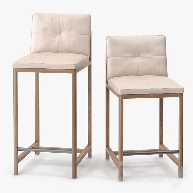 3d models Chair BasssamFellows Wood Frame Counter Stool  : 63919257e3e9dc6b848 from 3dsky.org size 640 x 640 jpeg 127kB