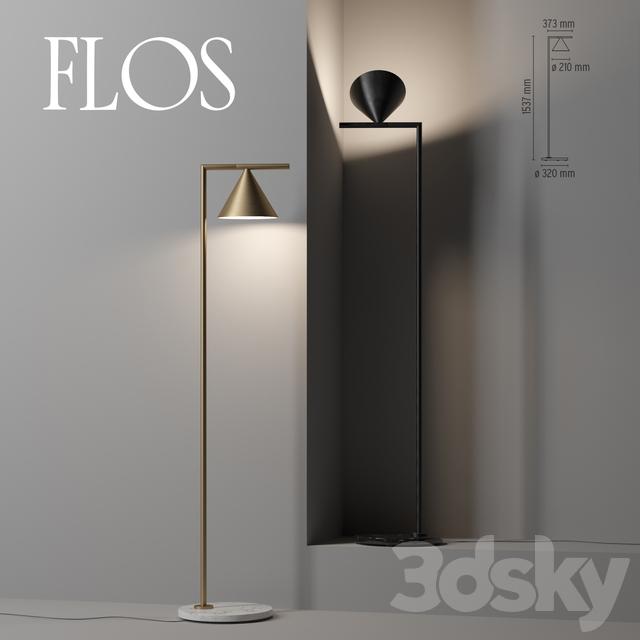 save off 3dcd3 0999c 3d models: Floor lamp - FLOS Captain Flint