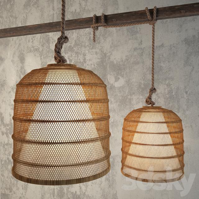 Models Ceiling Light Roost Basket Cloche Lamp