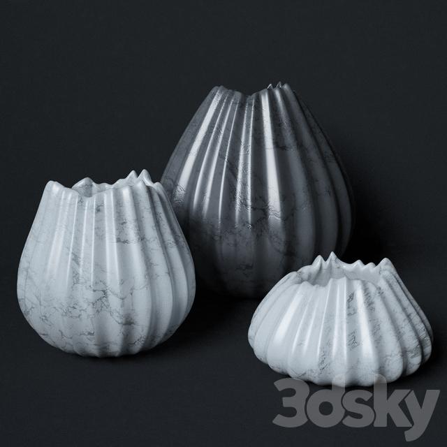 3d Models Vase Vase Zaha Hadid