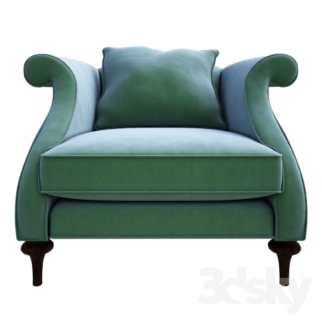 3d Models Arm Chair Christopher Guy Armchair