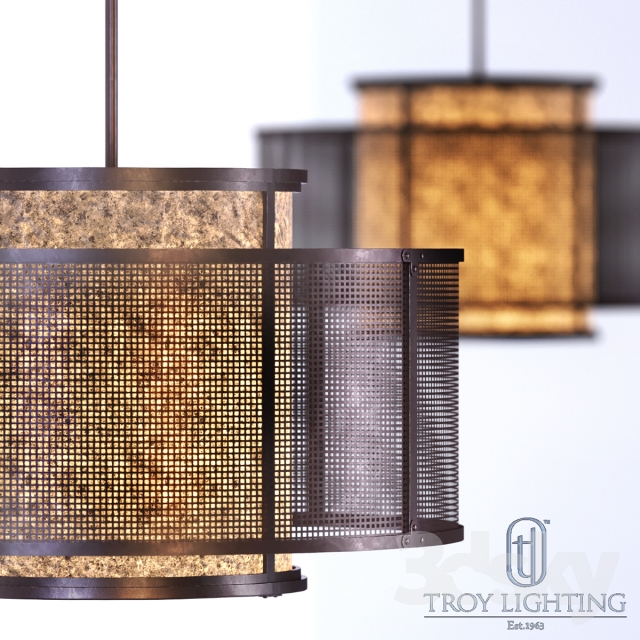 Models Ceiling Light Copper Mountain F3105 Pendant By Troy Lighting