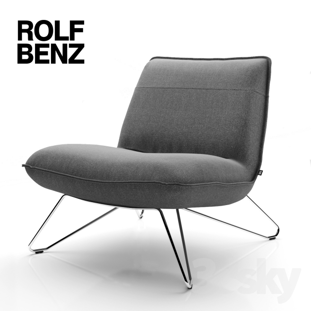 3d models arm chair rolf benz 394. Black Bedroom Furniture Sets. Home Design Ideas