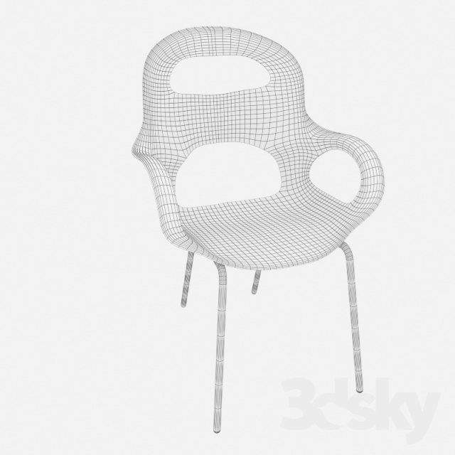 3d Models: Chair   Chair OH SHAIR