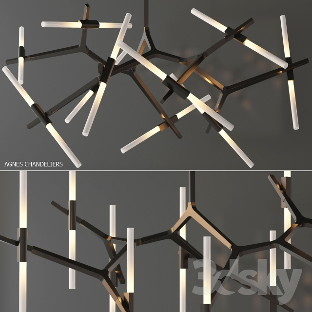 Agnes chandelier 20 lights by roll hill